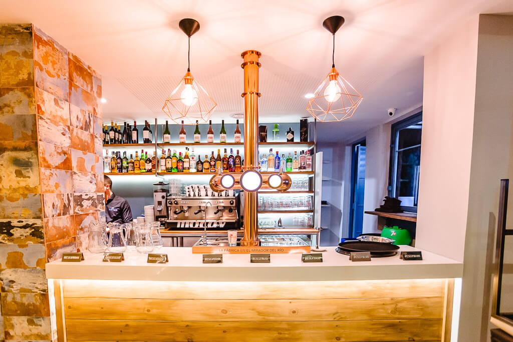 Barra bar restaurante